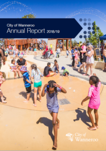 A9 City of wanneroo annual report Gold Australasian Reportiong Award