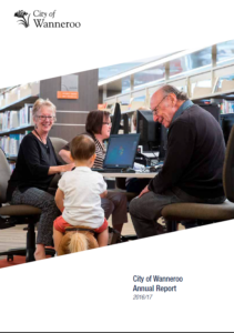 A_10 City of Wanneroo annual report gold